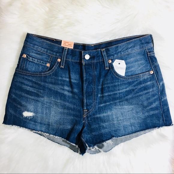 3ad2f6a8 Levi's Shorts | Levis 501 California Tide Cutoff Jean | Poshmark